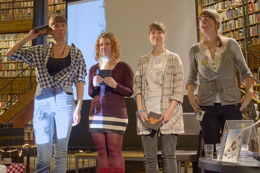 Debutbar Serier 2013 på Stockholms stadsbibliotek